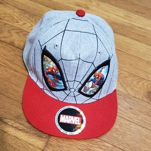 Boys Spiderman hat